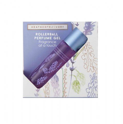 Lavender Fields Rollerball Perfume Gel 10ml Heathcote & Ivory